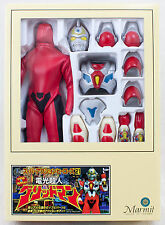 Denko Chojin Gridman Figure Marmit Super Action Heroes JAPAN ANIME TOKUSATSU