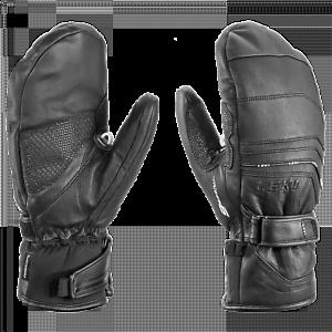 Extra Warm 10.5 11 LEKI ASPEN FUSE S MITTEN Leder Handschuhe UVP 140 Ski Schi