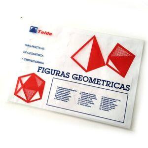 Figuras geométricas precortadas 22 figuras practicas geometria y aprendizaje