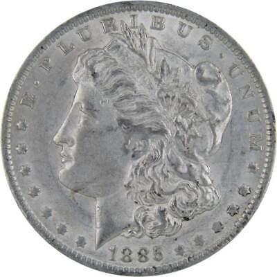 1887-O $1 Morgan Silver Dollar AU About Uncirculated
