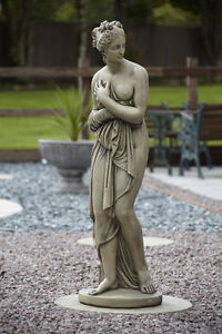 Large Pandora Stone Garden Statue Ornament Very Large Ebay