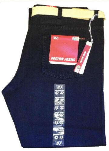 New Men/'s Big Size Relax Fit,Straight Leg Boston Denim Jeans Size 42-56