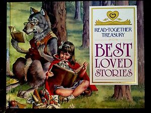 BEST-LOVED-STORIES-A-READ-TOGETHER-TREASURY-Children-039-s-Hardcover-Book