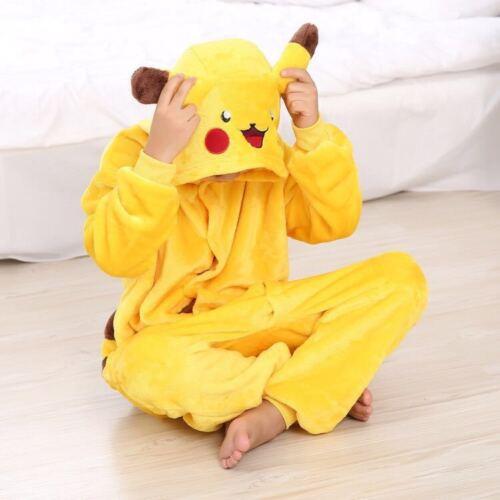Cartoon Kids Boys Girl Kigurumi Cosplay Jumpsuit Pajamas Sleepwear Fancy Costume