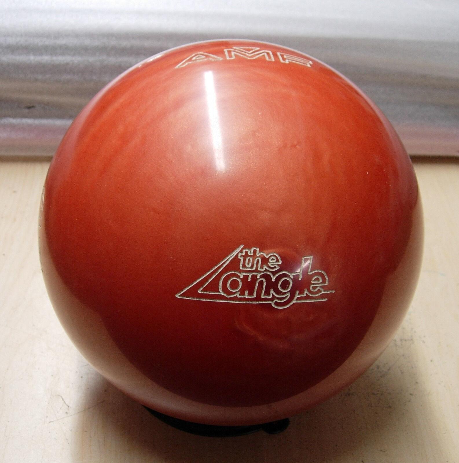 15oz TW 4-1 8 AMF 1987 Angle LD (Limited Distance) orange Swirl Urethane Ball