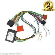 CT53-AU04 BOSE Car CD Wiring Loom Harness Adaptor For Audi A2, A3, A4, A6, A8,TT