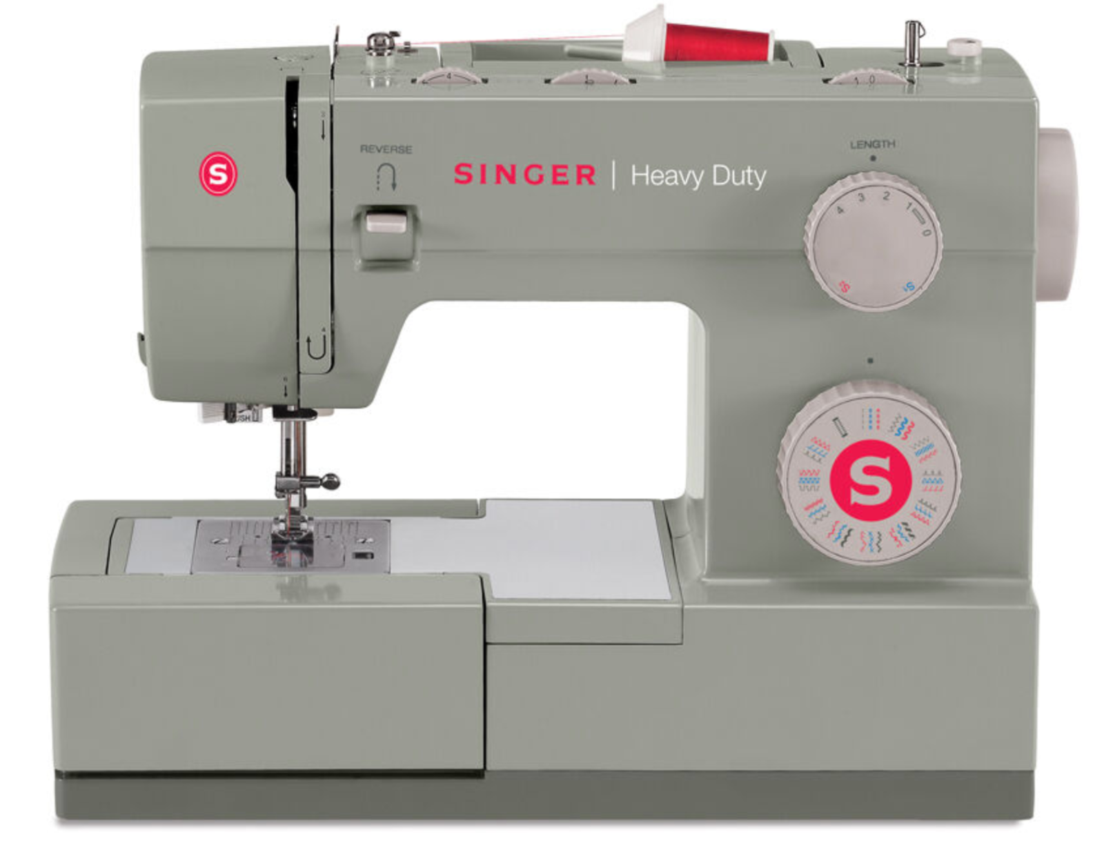 s l1600 - Singer Singer Sewing Machine 4452 Heavy Duty with 32 Built-in Stitches