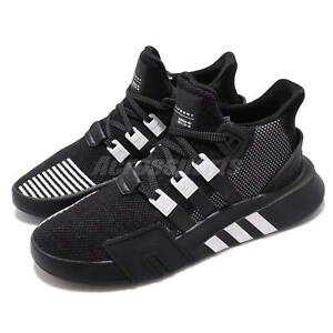 new concept db0a9 7fea3 Image is loading adidas-Originals-EQT-Bask-ADV-Black-White-Men-