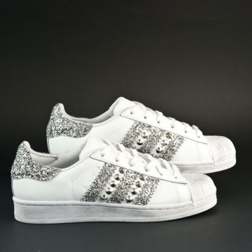 scarpe adidas superstar glitter