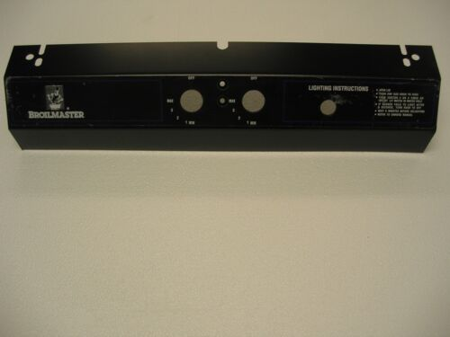 Broilmaster 5 Series Scratched Black Control Panel Electronic Ignitor 070895B^^^