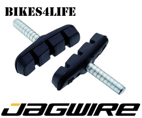 1 PAIR GENUINE JAGWIRE MOUNTAIN SPORT CANTI CYCLE BRAKE PADS BLOCKS 53MM JBS004