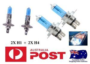 VT-VX-CRYSTAL-WHITE-Headlight-Bulbs-55-Watt-Commodore-Calais-VT-VX-VU-VY-VZ-SV6