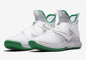 25a0dc872136 Nike Lebron Soldier XII 12 SVSM Home White Green Gold AO2609-100 ...