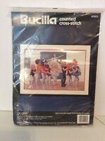 Bucilla The Line Up Ballet Class Cross Stitch Kit 24 X 16 Made In U.s.a.