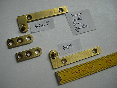 briquet charnière paire de pivots de 80 mm porte buffet armoire
