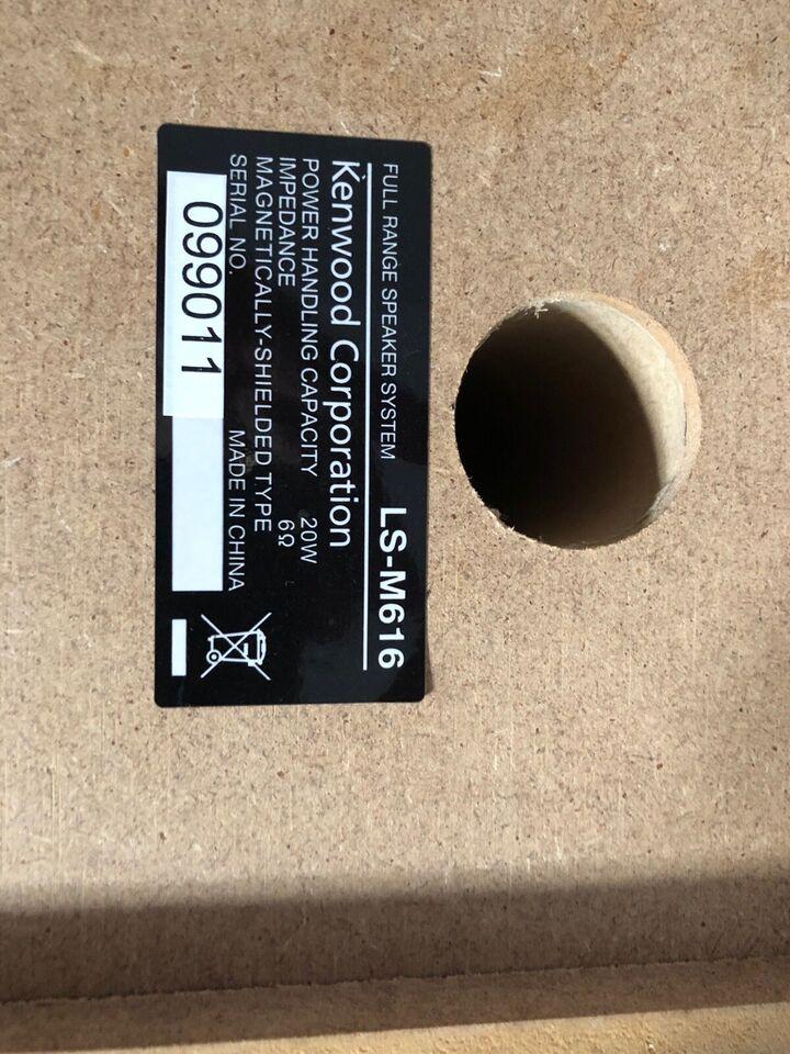 Minianlæg , Kenwood, Compact Hi-Fi appel doc