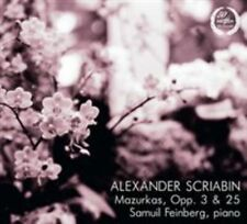 Scriabin: Mazurkas, Opp. 3 & 25, New Music