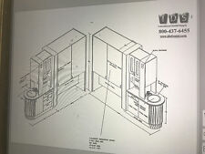 Cabinet Schematic - Architectual Plan - Customized to Suit - Dental