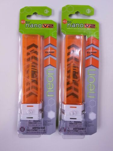 NEW robotic creature HexBug Nano V2 Neon single tube Hex Bug 477-4235