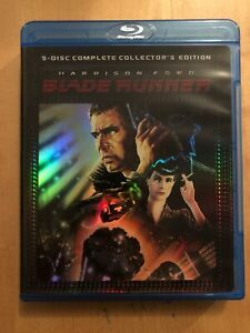 BLADE-RUNNER-5-DISC-COMPLETE-COLLECTORS-EDITION-by-RIDLEY-SCOTT-BLU-RAY-2007