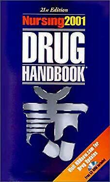 Nursing 2001 Drug Handbook by Springhouse-ExLibrary