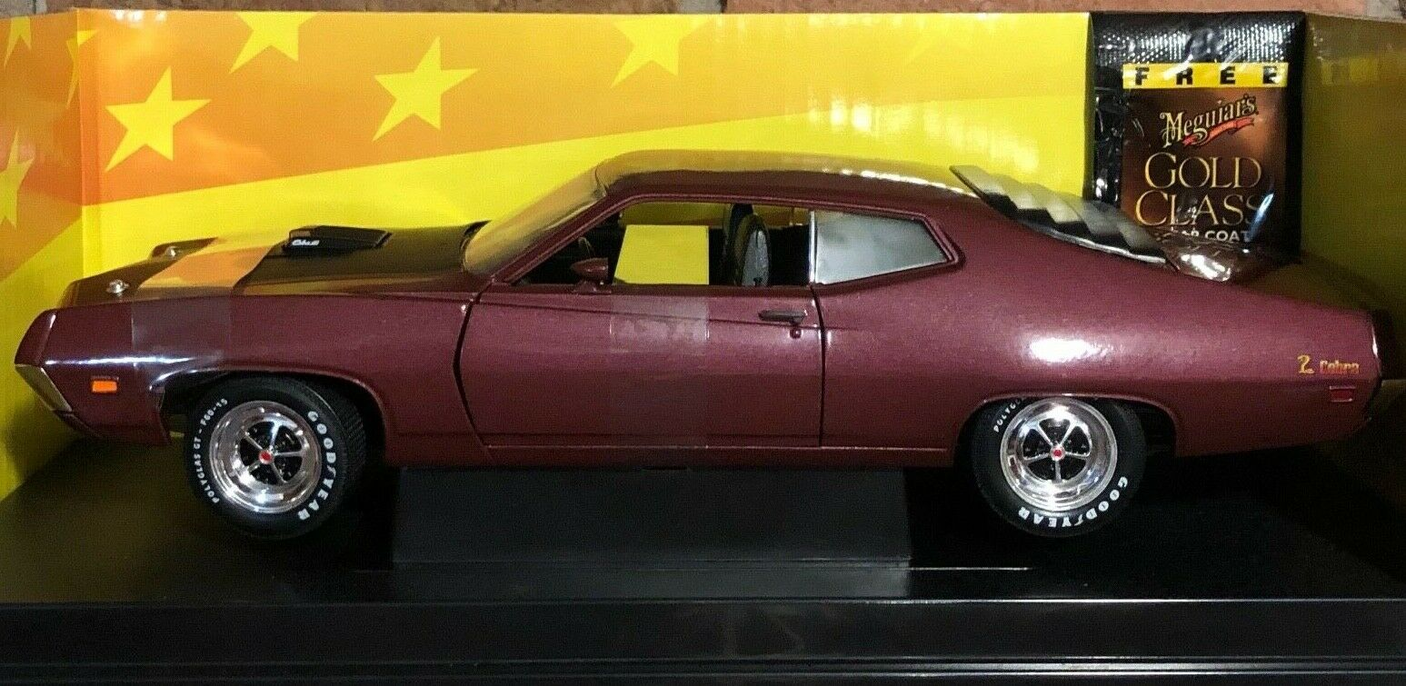 ERTL AMERICAN MUSCLE 1971 FORD TORINO COBRA LIMITED EDITION 1 18 SCALE