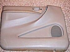 2003 DODGE CARAVAN INNER FRONT DOOR PANEL SKIN COVER LEFT DRIVER DOOR OEM GRAY
