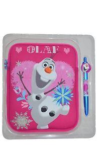 """Disney Frozen Ola 8"""" Tablet Case & 2-In 1 Stylus Set"""