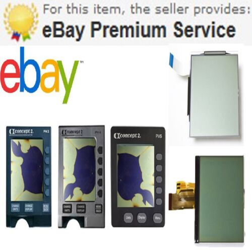 Replacement Screen For Concept 2 PM3 PM4 /& PM5 Monitors Fast Delivery