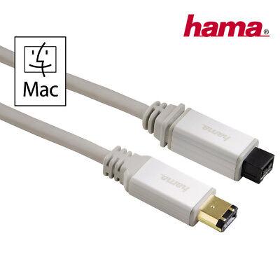 Ieee1394 B 9-pol Stecker Mac Apple 1,5 M Hama Firewire Kabel Ieee1394 A 6-pol Computer, Tablets & Netzwerk Firewire-kabel & -adapter