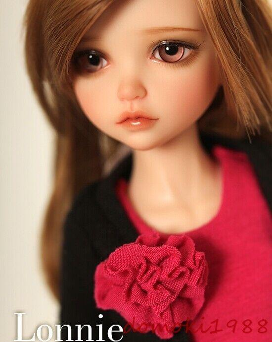 1 6 muñeca de BJD SD muñeca niña niño Lonnie libre de cara maquillaje ojos + Gratis