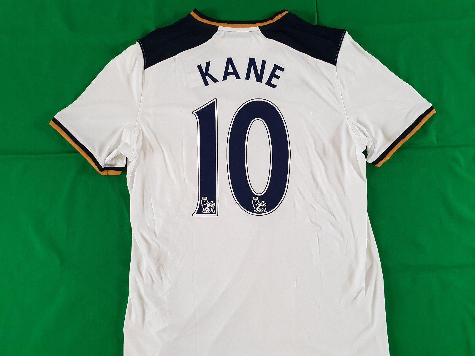 Tottenham Hotspurs Trikot Home 2016/17 Under Armour Größe L XL -NEU- 10 Kane