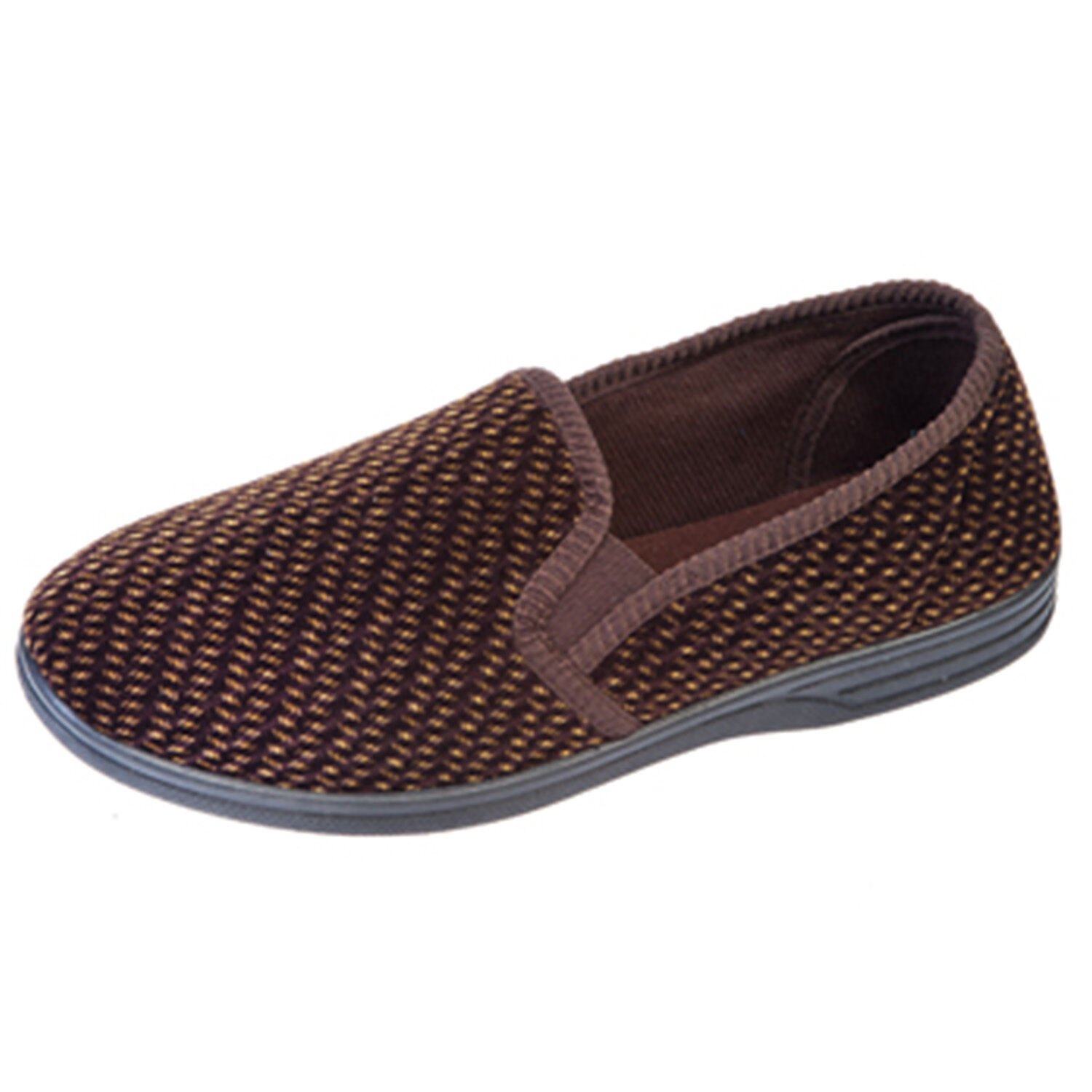 Coolers Hardwearing Mens Slippers Fabric Upper Hardwearing Coolers All Sizes Available 239efd