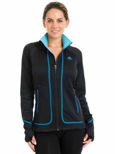 chaqueta Adidas negro Pordoi Fleece Terrex Swift para mujer grande Nueva HSwgq64p4