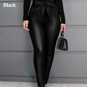 Guaranteed delivery within 4 working  days after dispatch Designer genuine  leather  Handmade  Leather Pants for woman