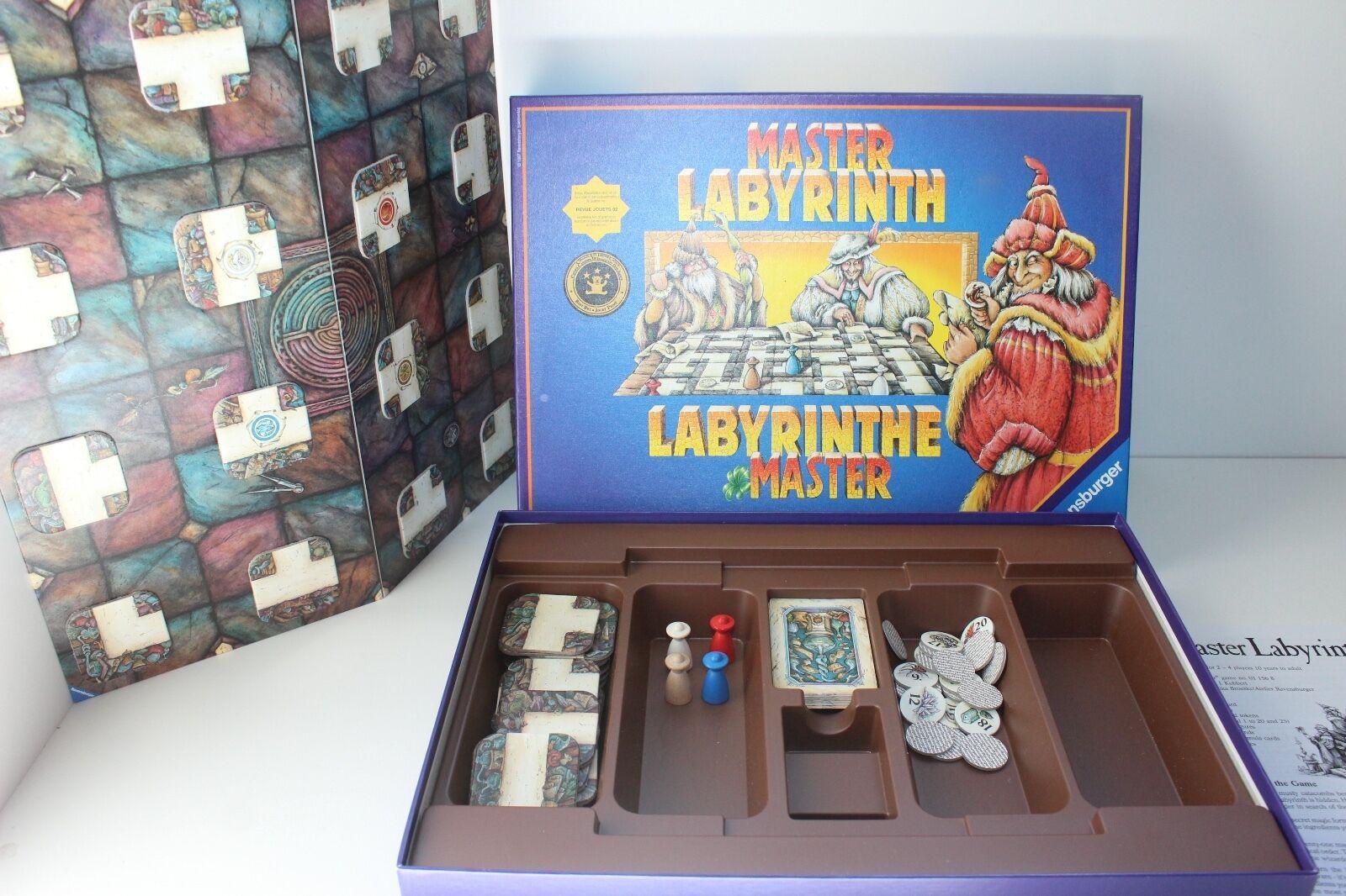 Ravensburger MASTER LABYRINTH Fantasy Dungeon Adventure Board Game 1997
