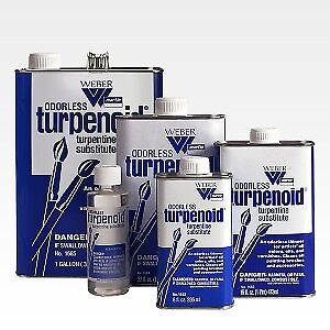Weber Odorless Turpenoid - Choose Your Size