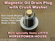 12mm MAGNETIC OIL PAN DRAIN PLUG 02-07 HONDA CB900F HORNET NAKED 900 CB1000R ++