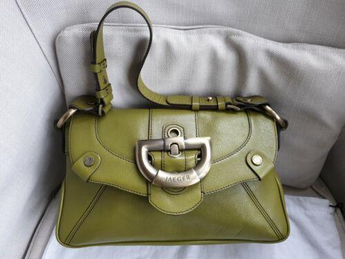 Leather Jaeger Handbag Jaeger Womens Leather Handbag Womens Vintage Vintage 6q0gBg