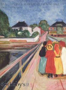 Sotheby's New York Catalogue Impressionist & Modern Art Evening Sale 2016 HB