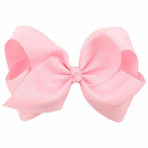 Charm Girls Baby Kids Cute Big Bow Ribbon Hair Clip Hairpin Accessories Barrette