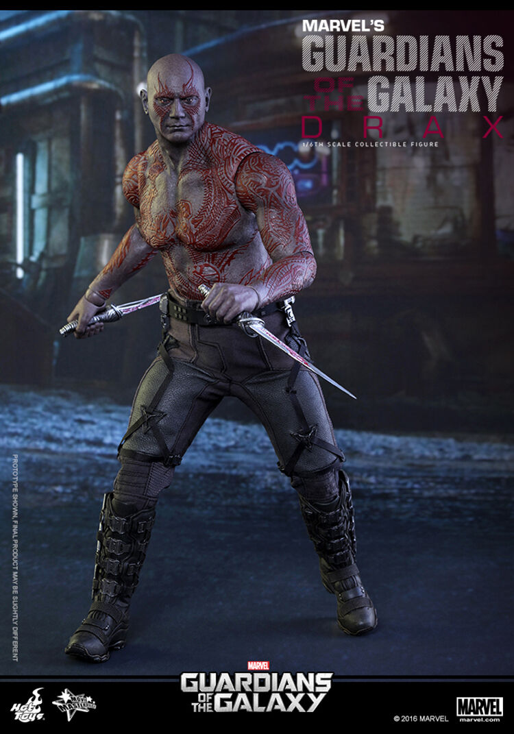 Hot Toys - Guardians Of Galaxy - Drax - Officiel