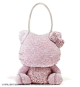 933f9fb8f1d0 Hello Kitty x ANTEPRIMA Pink Shoulder Bag Silver pink Wire bag From ...