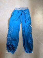 Zumba Fitness Women's Cargo Pants Sz L BLUE Active Gym Pants