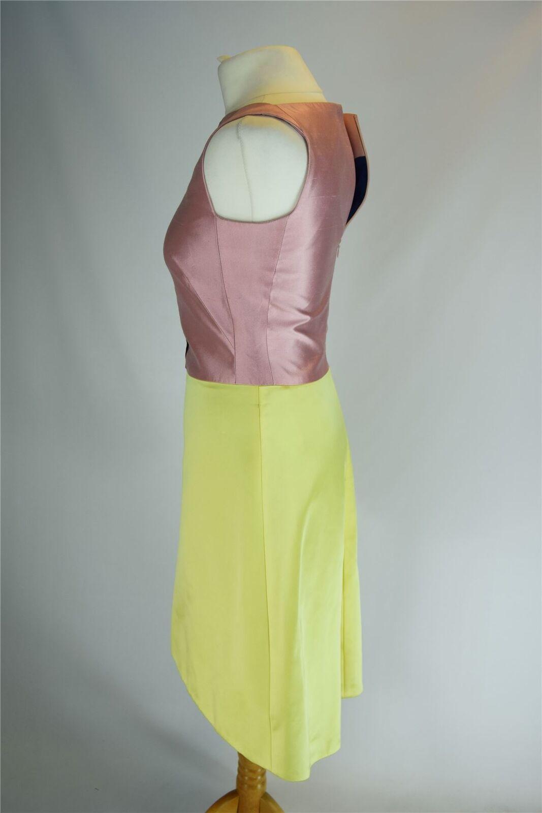 OSMAN rosa & Vestito Vestito Vestito Giallo, Medio d2a3b1