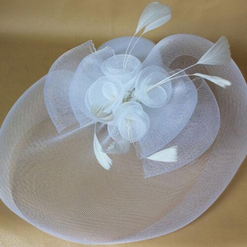 Großes Fascinator Stirnband Hut Hochzeiten Ladies Day Races Royal Ascot