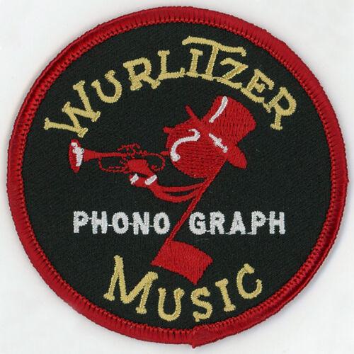 """3/"""" Wurlitzer Embroidered Patch Wurlitzer 1015"""