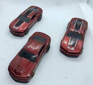 Hot-Wheels-Chevy-Camaro-Paquete-JOBLOT-Die-Cast-vehiculos
