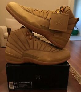 quality design d1bd3 1e681 Details about Nike Air Jordan 12 Vii PSNY Wheat NYC 14 Public School  AA1233-700 Ovo Grey 1 3 8