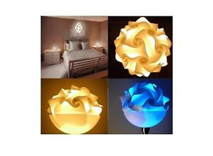 Puzzle-Lamps-XXL-21-5-16in-Romantic-Hanging-Lamp-Lights-Plug-Cable